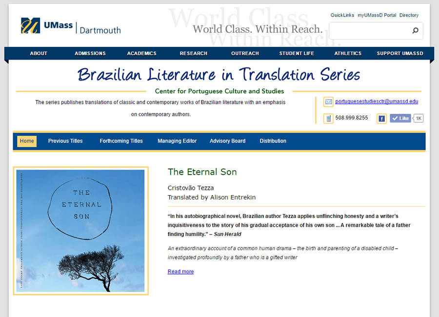Brazilian Literature in Translation Series
