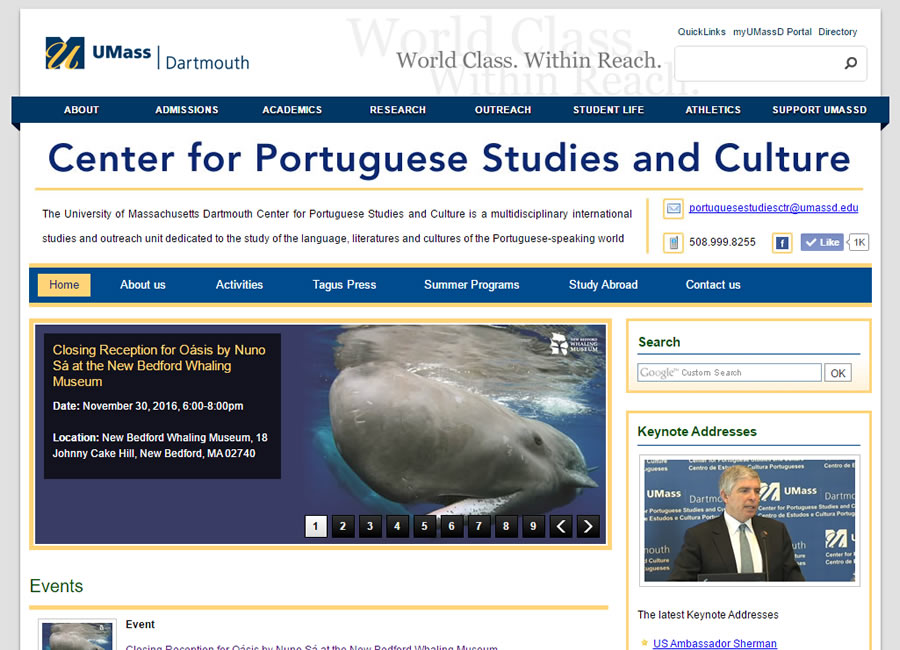 Center for Portuguese Studies and Culture