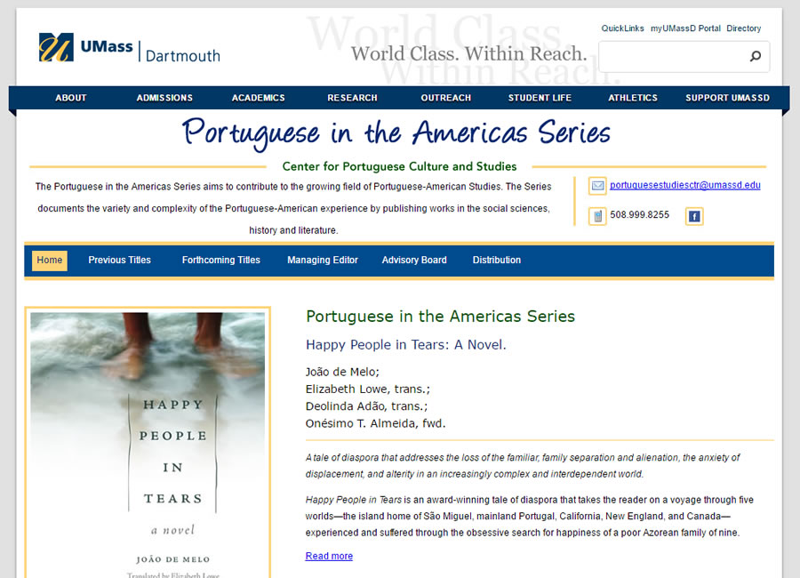 Portuguese in the Americas Series