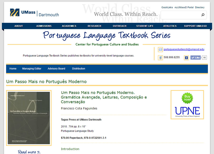 Portuguese Language Textbook Series